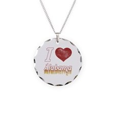 I Love Alabama (Vintage) Necklace