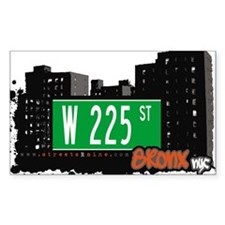 W 225 ST Decal