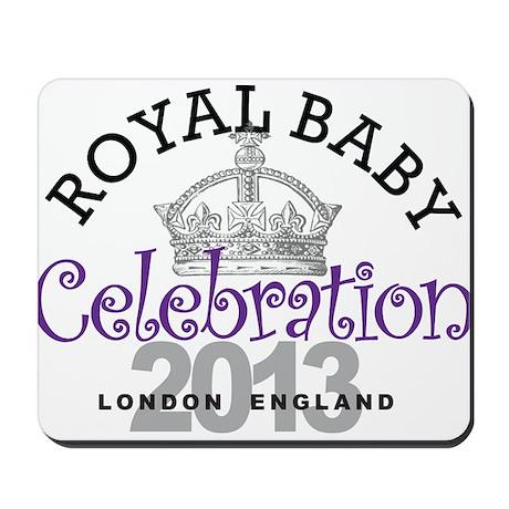 Royal Baby Celebration London England Mousepad
