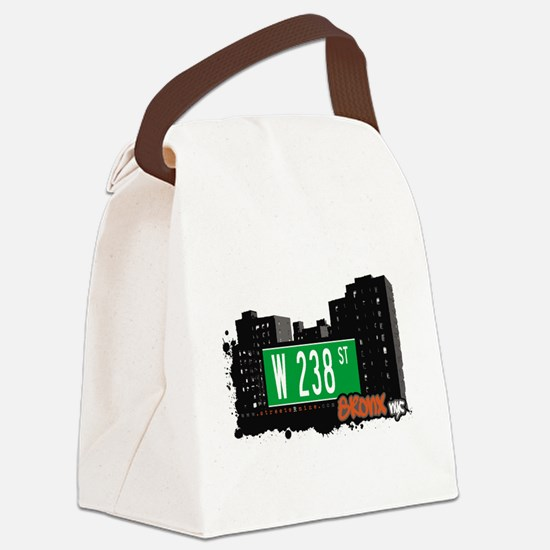 W 238 ST Canvas Lunch Bag