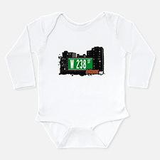 W 238 ST Long Sleeve Infant Bodysuit