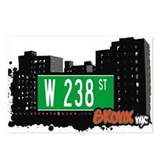 W 238 ST Postcards (Package of 8)