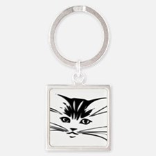 Cat Face Keychains