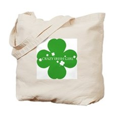 CRAZY IRISH GIRL Tote Bag