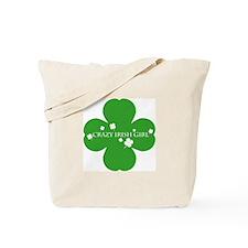 CRAZY IRISH GIRL Tote Bag
