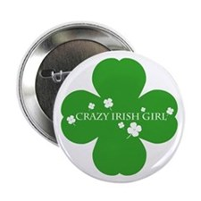CRAZY IRISH GIRL Button