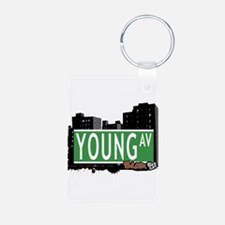 Young Ave Keychains