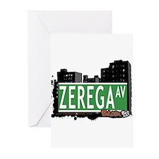 Zerega Ave Greeting Cards (Pk of 20)