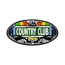 Country Club Bronx NYC (Black) Patches