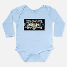 high bridge Bronx NYC (Black) Long Sleeve Infant B
