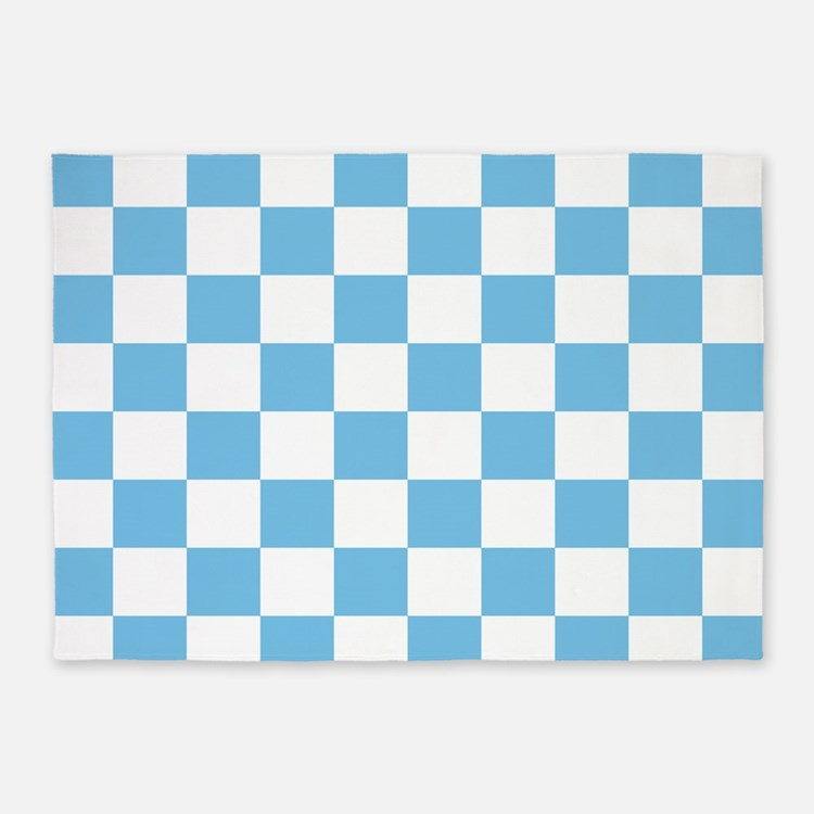 Checkerboard Rug: Blue And White Checkered Rugs, Blue And White Checkered