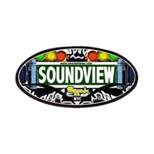 Soundview Bronx NYC (Black) Patches