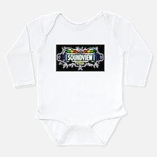 Soundview Bronx NYC (Black) Long Sleeve Infant Bod