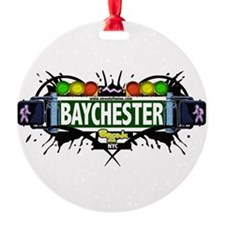 Baychester Bronx NYC (White) Ornament