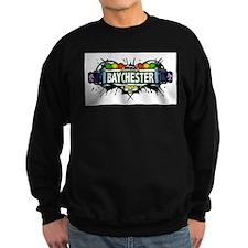 Baychester Bronx NYC (White) Sweatshirt