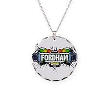Fordham Bronx NYC (White) Necklace