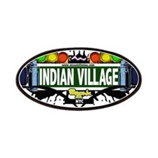 Indian Village Bronx NYC (White) Patches