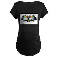 Indian Village Bronx NYC (White) T-Shirt