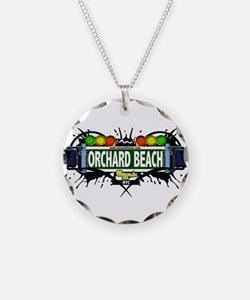 Orchard Beach Bronx NYC (white) Necklace