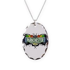 Parkchester Bronx NYC (White) Necklace