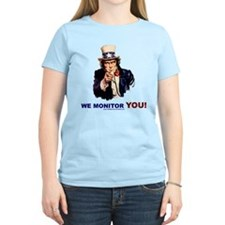 Uncle Sam Is Monitoring You T-Shirt
