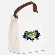 Throggs Neck Bronx NYC (White) Canvas Lunch Bag