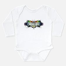 Throggs Neck Bronx NYC (White) Long Sleeve Infant