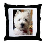 Westie Throw Pillows