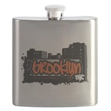BROOKLYN NYC Flask