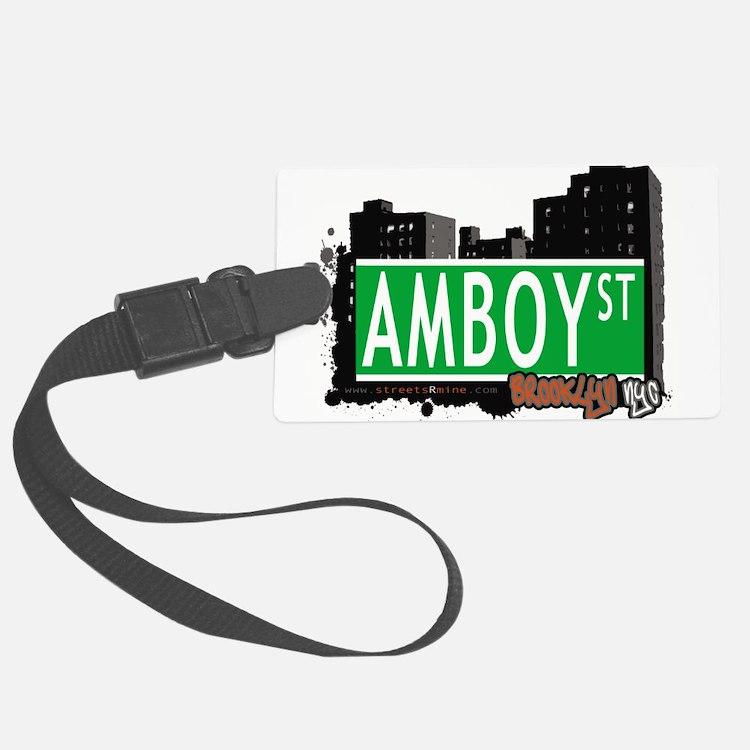 AMBOY street, Brooklyn, NYC Luggage Tag