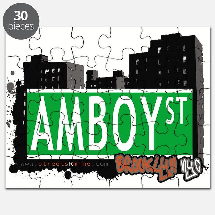 AMBOY street, Brooklyn, NYC Puzzle