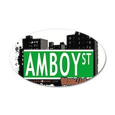 AMBOY street, Brooklyn, NYC Wall Decal