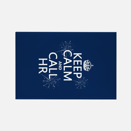 Keep Calm and Call H.R. Rectangle Magnet (10 pack)