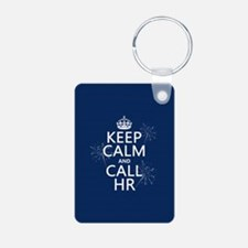Keep Calm and Call H.R. Keychains
