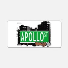 Apollo street, Brooklyn, NYC Aluminum License Plat