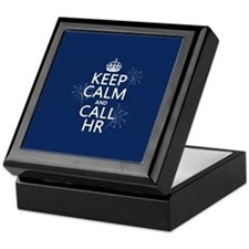 Keep Calm and Call H.R. Keepsake Box