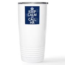 Keep Calm and Call H.R. Thermos Mug