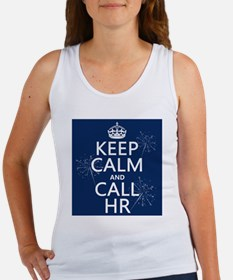 Keep Calm and Call H.R. Women's Tank Top