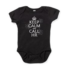 Keep Calm and Call H.R. Baby Bodysuit