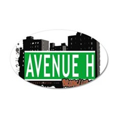 Avenue H, Brooklyn, NYC Wall Decal