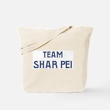 Team Shar Pei Tote Bag