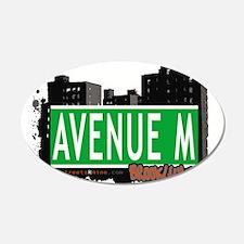 Avenue M, Brooklyn, NYC Wall Decal