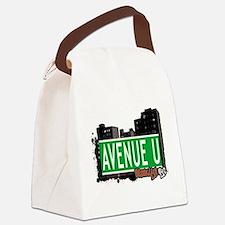 Avenue U, Brooklyn, NYC Canvas Lunch Bag