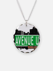 Avenue U, Brooklyn, NYC Necklace