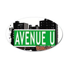 Avenue U, Brooklyn, NYC Wall Decal