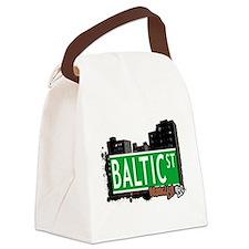 Baltic street, BROOKLYN, NYC Canvas Lunch Bag