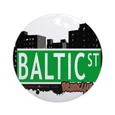 Baltic street, BROOKLYN, NYC Ornament (Round)