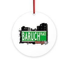 Baruch place, BROOKLYN, NYC Ornament (Round)