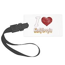 I Love California (Vintage) Luggage Tag
