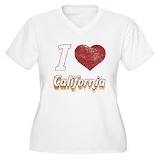 I Love California (Vintage) T-Shirt